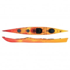 Kayak Freccia Expedition con timone Rain