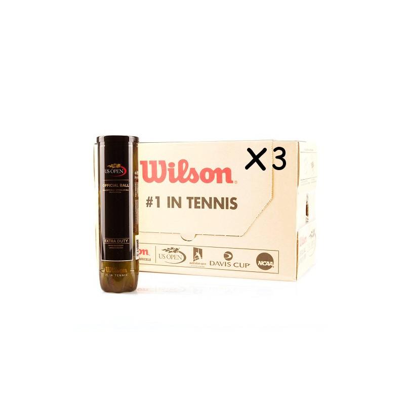 WILSON US Open 54 Tubi/4 palle