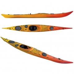 Kayak laser 5.15 expedition con timone