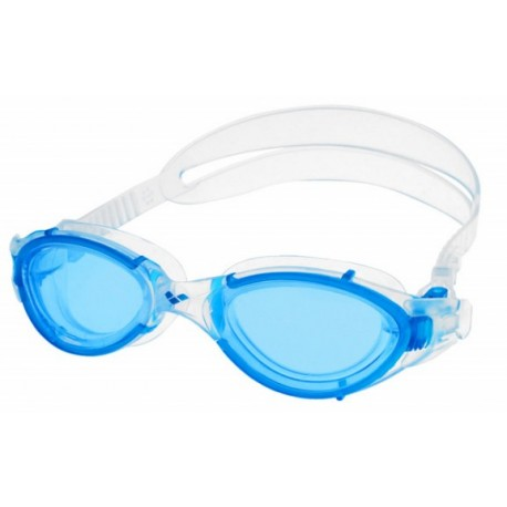 ARENA Nimesis X-Fit turquoise-blu clear