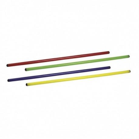 SCHIAVI ASTA GINNICA PVC 120 colore giallo cm 120 diam mm 25