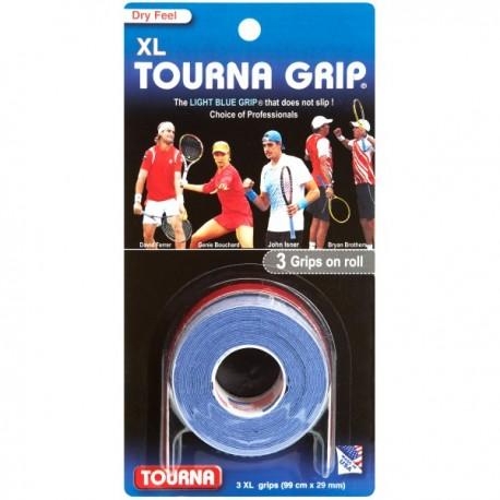 TOURNA Grip 3 grips XL light blue