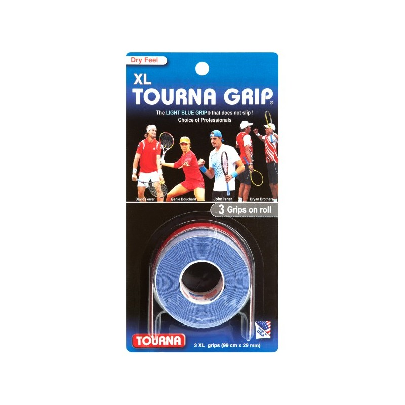 TOURNA Grip 3 grips XL light blue