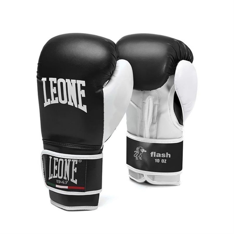 LEONE Guantoni Flash neri 10OZ