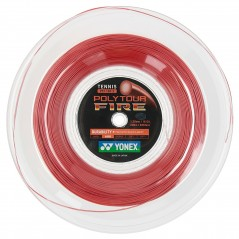 Yonex Poly Tour Fire Rossa 1.30 Matassa 200 m