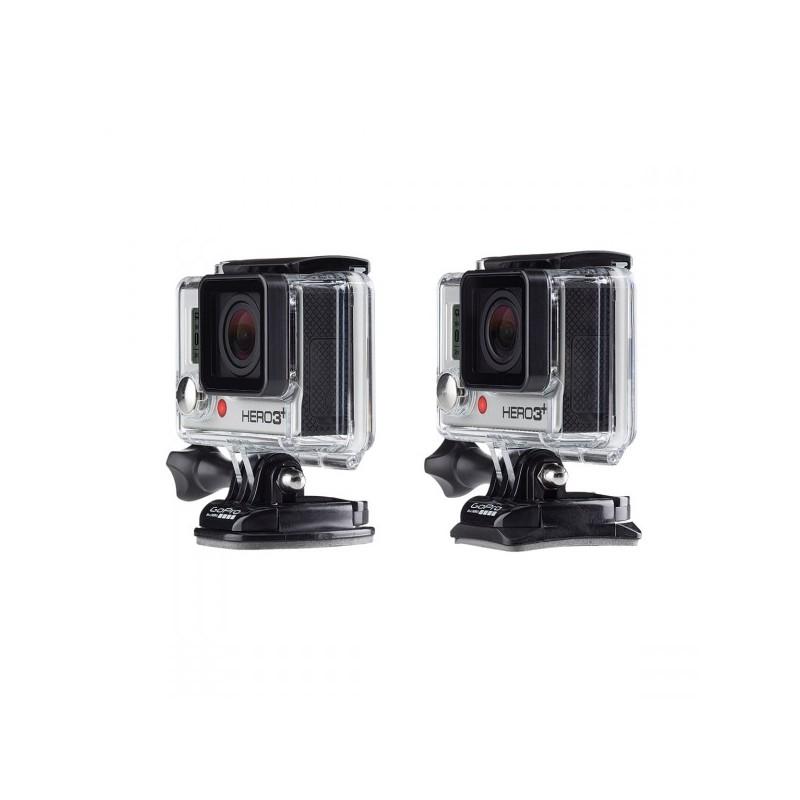 GOPRO Fissaggi Adesivi per Videocamere Piatti e Curv