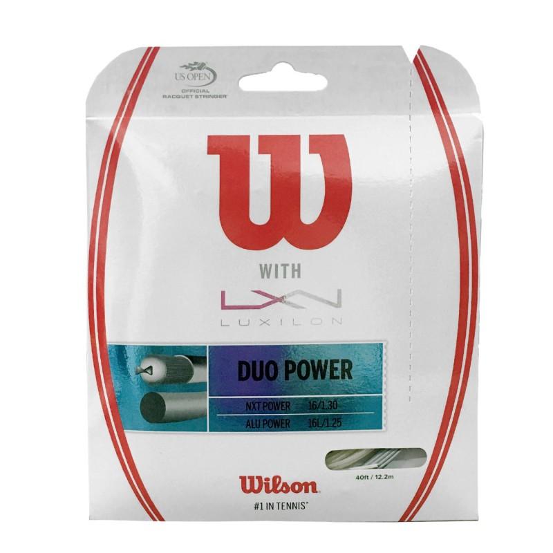 WILSON Duo Power 1.25 + 1.30 Set 12 mt