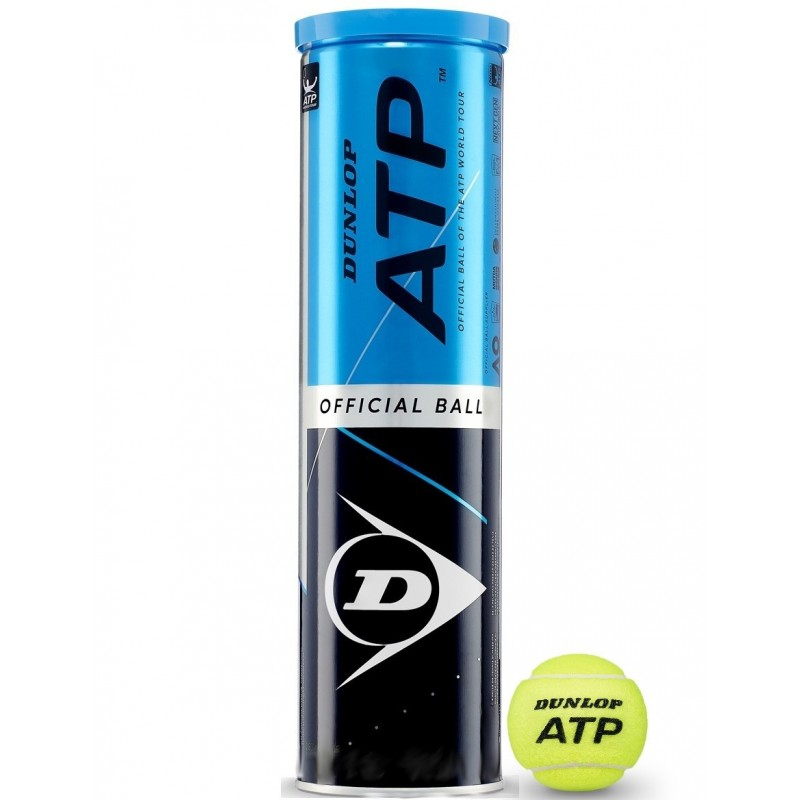 DUNLOP ATP Tubo da 4 Palline
