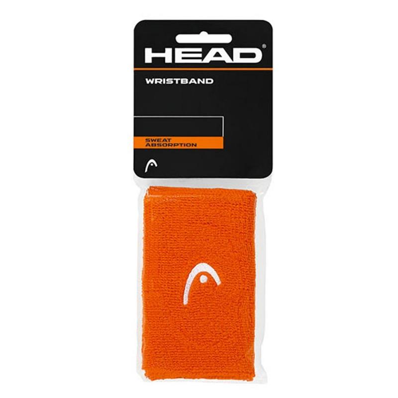 "HEAD Polsini Wristband 5"" orange"
