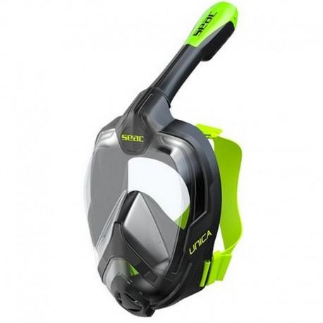 SEAC Maschera Full Face UNICA Nera/Verde