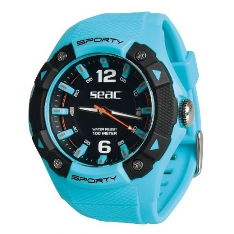 SEAC Orologio Sporty Azzurro
