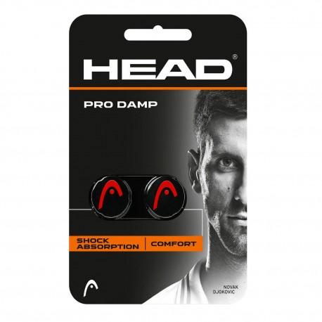 HEAD Pro Damp Black/Red