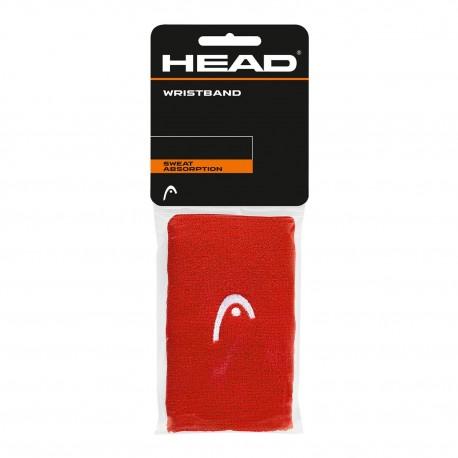 "HEAD Polsini Wristband 5"" red"