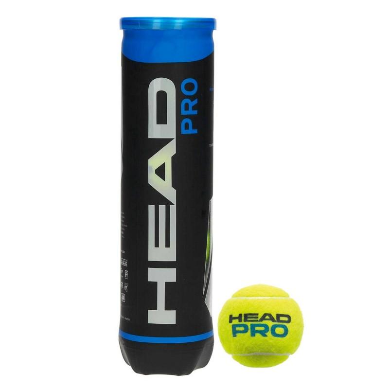 Head Pro Tubo da 4 Palline da Tennis