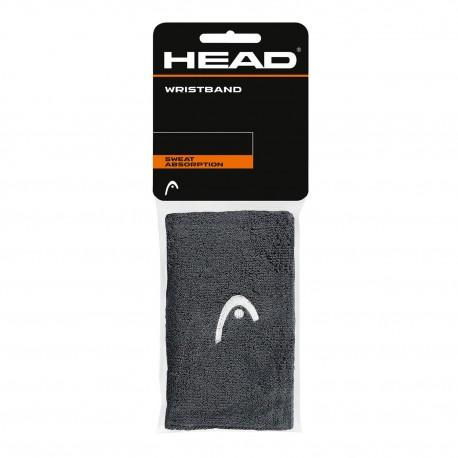"""HEAD Polsini Wristband 5"""" Antracite"""