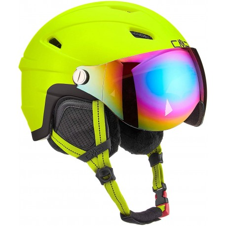 CMP Casco da Sci con Visiera Wa-2 Apple