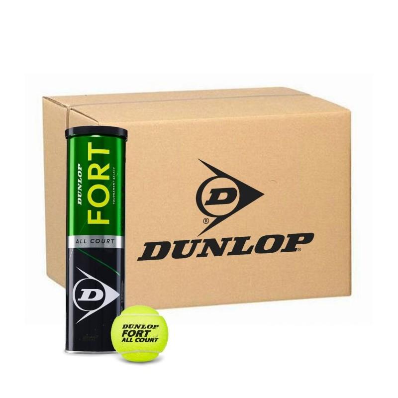 DUNLOP Fort All Court Tournament Select 18 tubi/4 palline