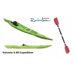 Rainbow Vulcano 4.60 Expedition - Canoa Sit On Top 460 Cm + 2 Gavoni + Sedile + Pagaia