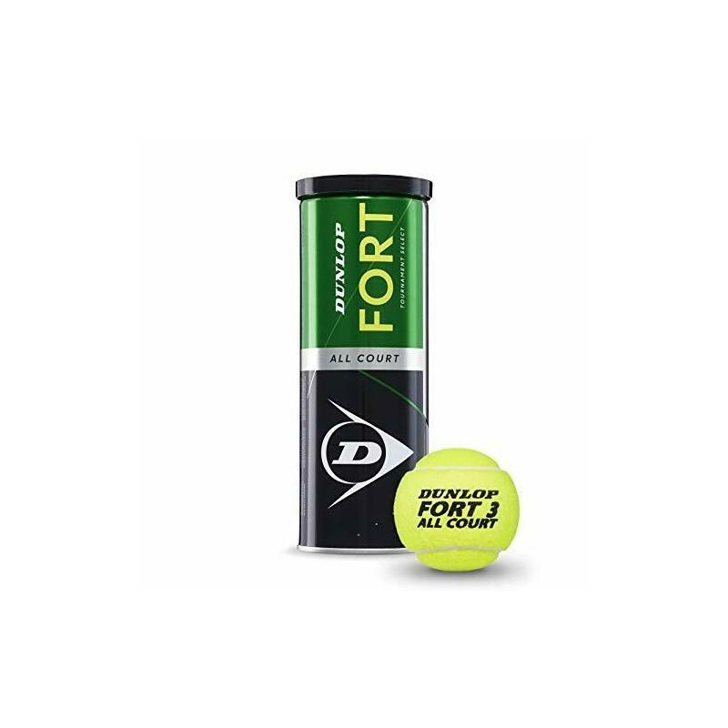 Dunlop Fort All Court Tournament Select tubo 3 palline