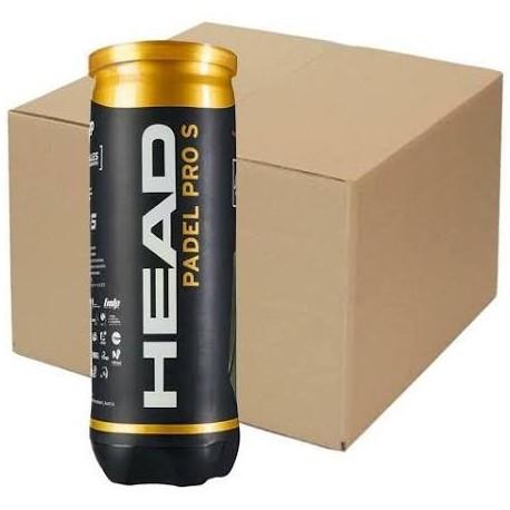 HEAD Padel Pro S 24 Tubi da 3 Palline