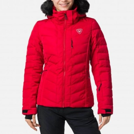 ROSSIGNOL Giacca donna Pearly Rapide Rossa