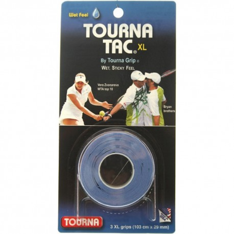 TOURNA Grip Tac 3 Overgrip Blu