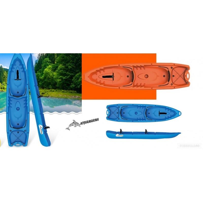 Kayak Acquamarina 2 -2 Posti + 2 Pagaie + 2 Seggiolini