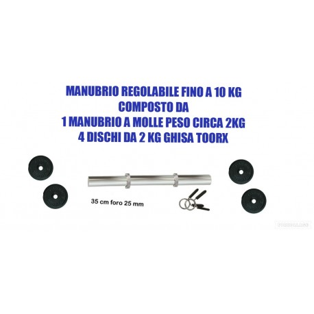 MANUBRIO 10 KG:MANUBRIO A...