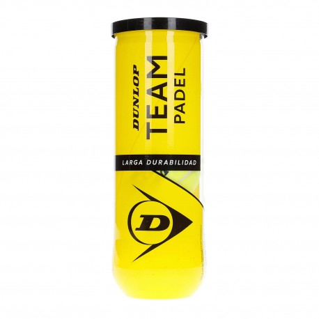 Dunlop Padel Team Tubo da 3...