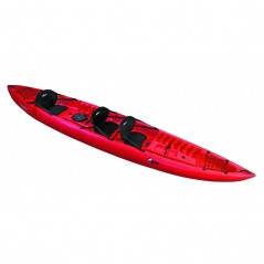 RAINBOW Orca Expedition - Canoa Sit On Top 3 Posti 420 Cm + Gavoni + 3 Sedili